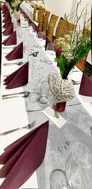 Gedeckter Tisch Veranstaltung
