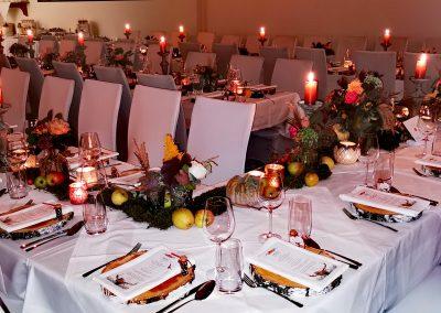 Gedeckter Tisch Steirische Hochzeit