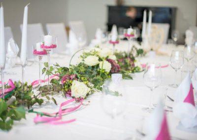 Gedeckter Tisch Hochzeitsservice